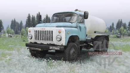 GAZ 53A KO-503B-2 para Spin Tires