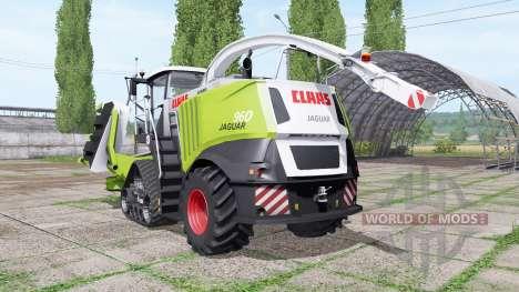 CLAAS Jaguar 960 para Farming Simulator 2017