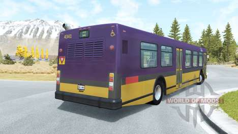 Wentward DT40L King County para BeamNG Drive