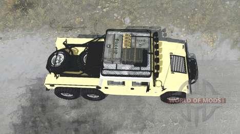 Hummer H1 Alpha 6x6 para Spintires MudRunner