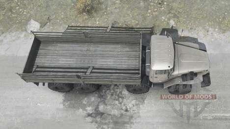 Ural 6614 para Spintires MudRunner