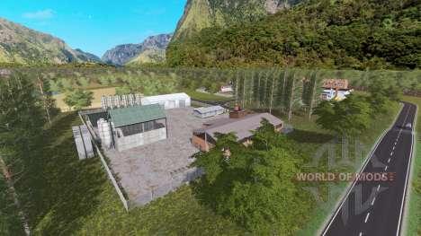 British Farm Style para Farming Simulator 2017