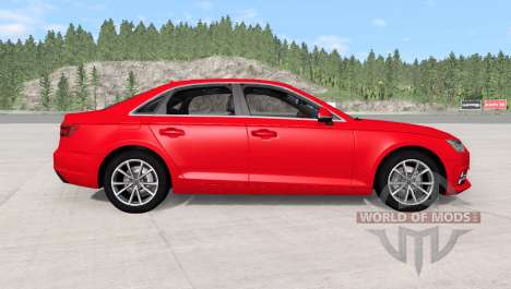 Audi A4 TFSI quattro S line (B9) 2016 para BeamNG Drive
