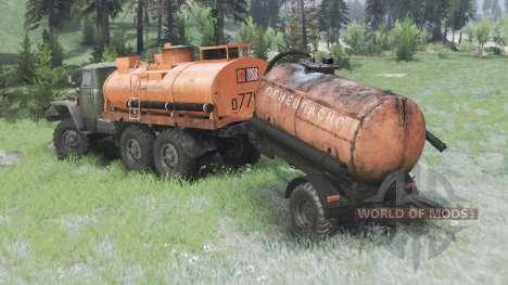 Ural 375 por AlexGuD para Spin Tires