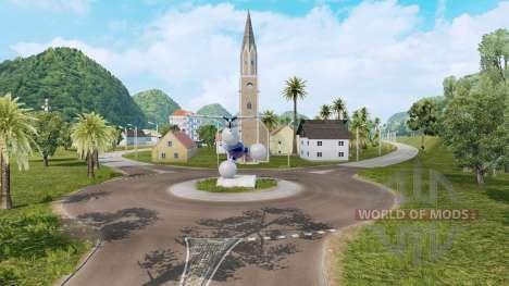 Los Paisajes De América Del Sur para Euro Truck Simulator 2