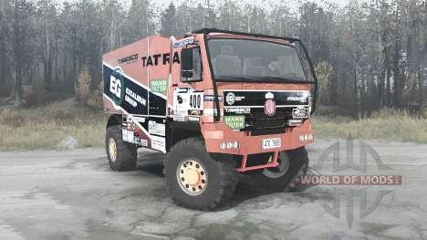 Tatra T815 4x4 Dakar para Spintires MudRunner
