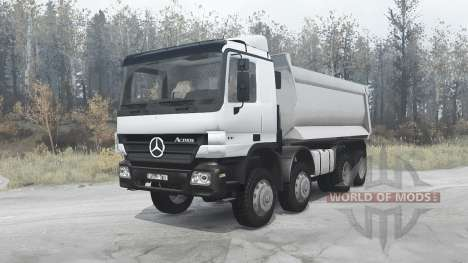 Mercedes-Benz Actros 4141 (MP2) 2003 para Spintires MudRunner