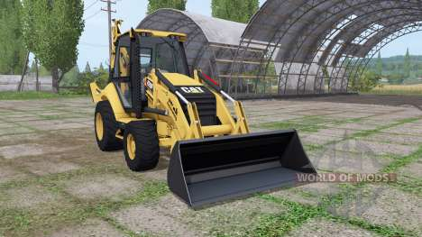 Caterpillar 420F IT para Farming Simulator 2017