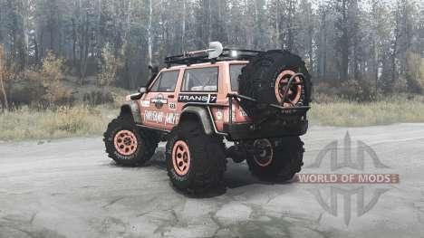 Jeep Cherokee para Spintires MudRunner