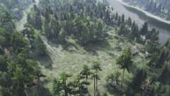 The Forest Roads v1.01 para Spin Tires