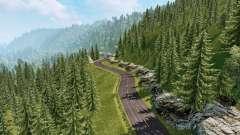 Los paisajes de América del Sur v2.1 para Euro Truck Simulator 2
