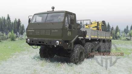 KrAZ Siberia 7Э6316 editar Sergo para Spin Tires
