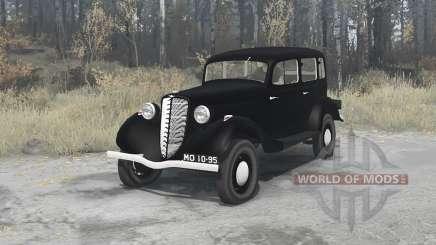 GAZ M1 1936 para MudRunner