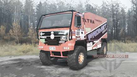 Tatra T815 4x4 Dakar para MudRunner