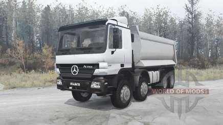 Mercedes-Benz Actros 4141 (MP2) 2003 para MudRunner