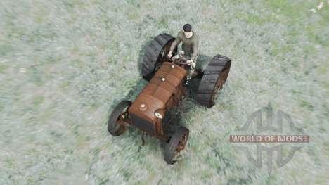 Fordson-Putilovets para Spin Tires