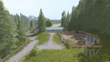 Goldcrest Mountains para Farming Simulator 2017