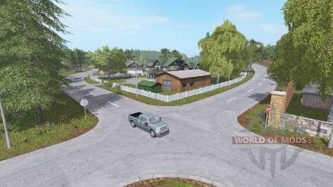 Pueblo de la granja para Farming Simulator 2017