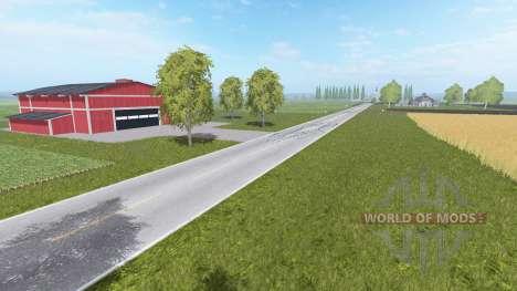 Wisconsin Illinois Border para Farming Simulator 2017