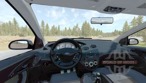 Ford Focus SVT (DBW) 2002 para BeamNG Drive