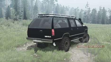 Chevrolet Suburban para Spintires MudRunner
