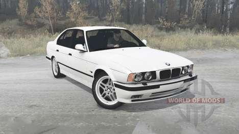 BMW 525iX 1991 para Spintires MudRunner