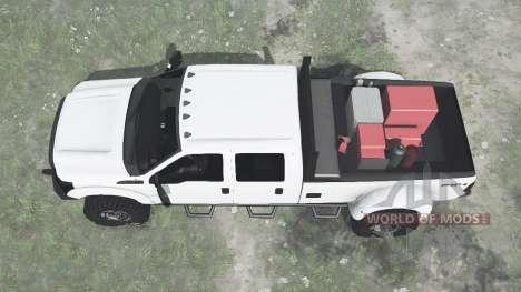 Ford F-350 para Spintires MudRunner