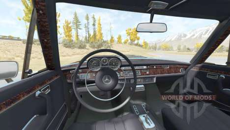 Mercedes-Benz 300 SEL 6.3 (W109) 1968 para BeamNG Drive