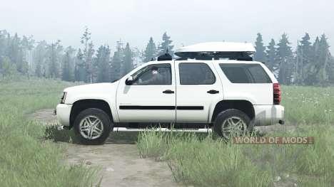 Chevrolet Tahoe (GMT900) 2007 para Spintires MudRunner