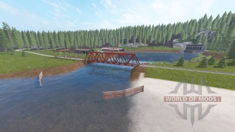 Poppendorfer Forst para Farming Simulator 2017