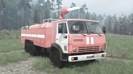 KamAZ 53212 AP-16 para Spintires MudRunner