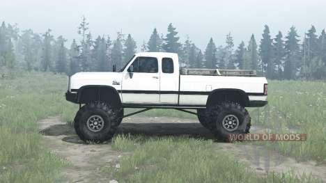 Dodge Power Ram para Spintires MudRunner