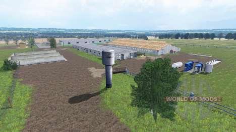 Los campos de verano para Farming Simulator 2015