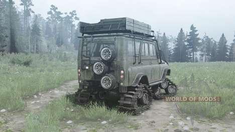 UAZ 3151 para Spintires MudRunner