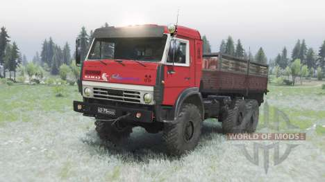 KamAZ 5350 para Spin Tires