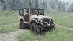 Toyota Land Cruiser 40 Canvas Top (FJ40L) para MudRunner