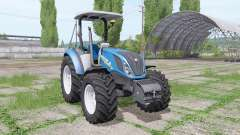 New Holland T5.120 without cab para Farming Simulator 2017