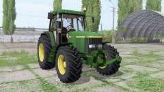 John Deere 6810 Continental para Farming Simulator 2017