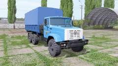 ZIL 4334 6x6 v1.1 para Farming Simulator 2017