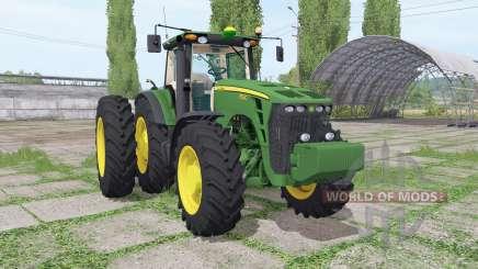 John Deere 8530 dual rear para Farming Simulator 2017