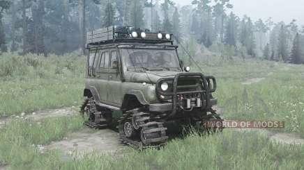 UAZ 3151 rastreador de módulos para MudRunner