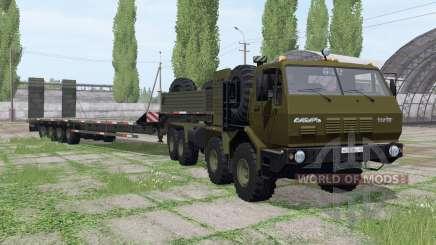 KrAZ 7Э6316 Siberia para Farming Simulator 2017