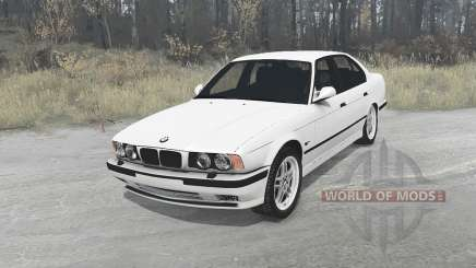 BMW 525iX sedan (E34) 1991 para MudRunner