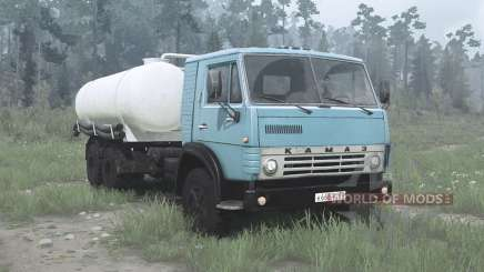 KamAZ 53212 KO-505A para MudRunner