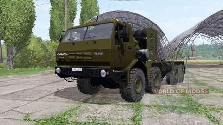 KrAZ 7Э6316 Siberia v1.1 para Farming Simulator 2017