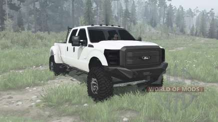 Ford F-350 Super Duty Crew Cab 2011 para MudRunner