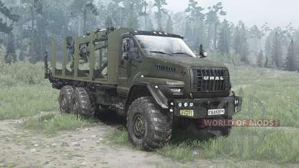 Ural Siguiente (4320-6951-74) corto para MudRunner
