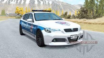 ETK de la Serie 800 Serbia: la Policía v1.01 para BeamNG Drive