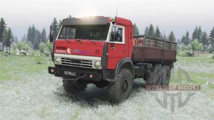 KamAZ 5350 civil para Spin Tires