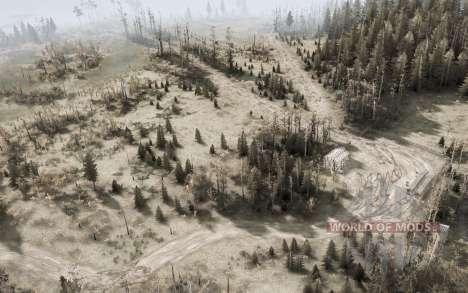 Ryazan pantanos v1.1 para Spintires MudRunner